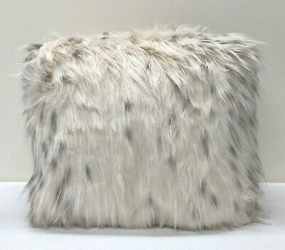 5527ba3b9b NEW Pottery Barn TEEN Faux Fur Snow Cat LARGE 41 Beanbag Slipcover Cover •  102.29