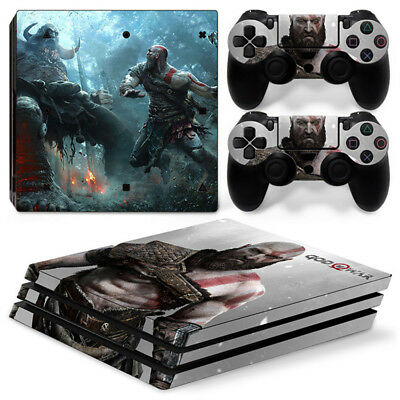AU16.92 • Buy God Of War For Sony Playstation PS4 PRO Console Stickers & 2 Controllers Skin