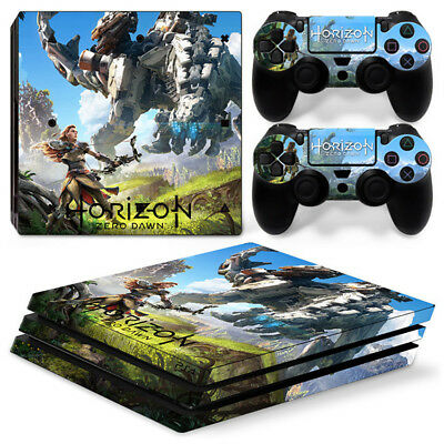AU16.08 • Buy Horizon Zero Dawn For Playstation PS4 PRO Console Stickers & 2 Controllers Skin