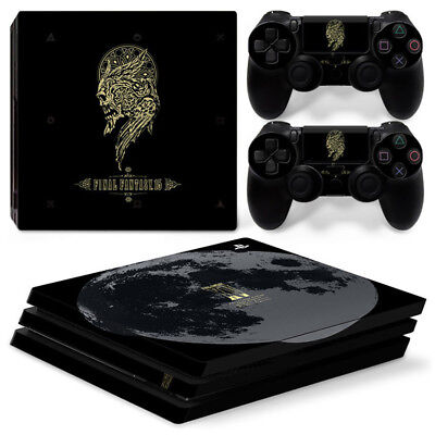 AU16.92 • Buy Final Fantasy XV For Playstation PS4 PRO Console Stickers & 2 Controllers Skin