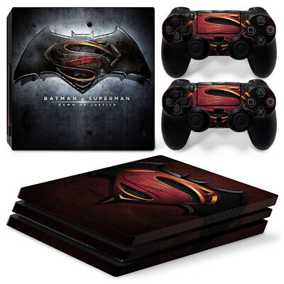 AU16.08 • Buy Batman Skin For Sony Playstation PS4 PRO Console Stickers & 2 Controllers Skin
