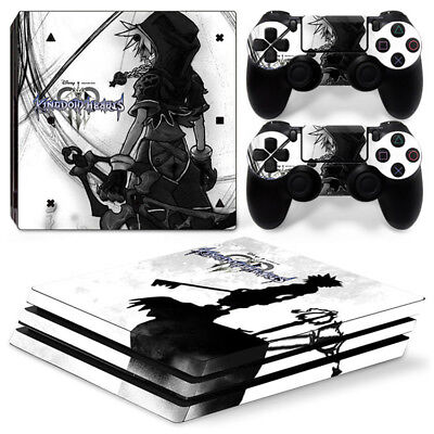 AU16.92 • Buy Kingdom Hearts For Playstation PS4 PRO Console Stickers & 2 Controllers Skin