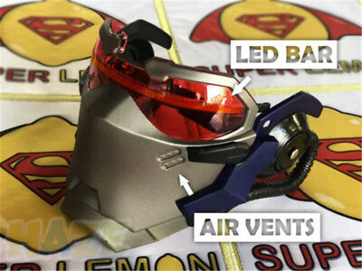AU52.85 • Buy Game Soldier 76 Cosplay Mask Luminous Carnival Halloween Party