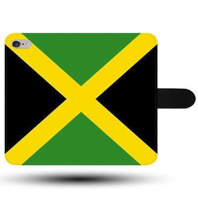 Jamaica Flag Original Kingston Bob Marley Synthetic Fabric Phone Case Cover • 8.99£