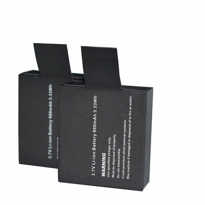AU13.52 • Buy 2x 900mAh 3.7V Battery Replacement For GoPro SJ4000 Sport Action Camera DVR