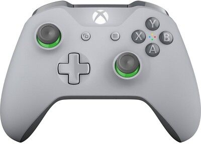 View Details Microsoft Xbox One Wireless Controller - Grey/Green • $