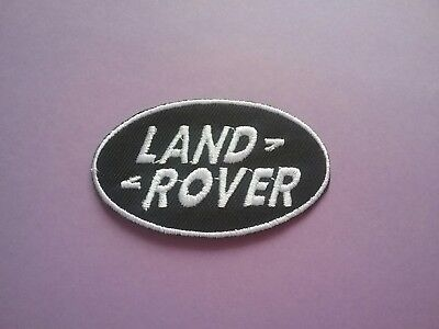 £3.25 • Buy MOTORSPORTS RACING CAR VAN TRUCK SEW ON & IRON ON PATCH:- LAND ROVER (a) BLACK