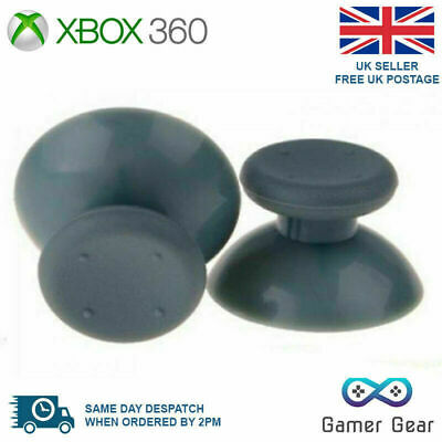 $2.56 • Buy 2 X Xbox 360 Analog Thumb Sticks Thumbsticks Replacements - Grey