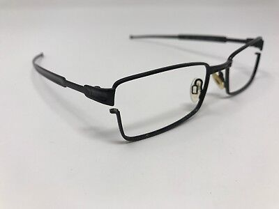 1af3422d61ad4 For Parts Or Repair Oakley Eyeglass Frame OX 3112-0151 Black TUMBLEWEED  JE17 • 54.99