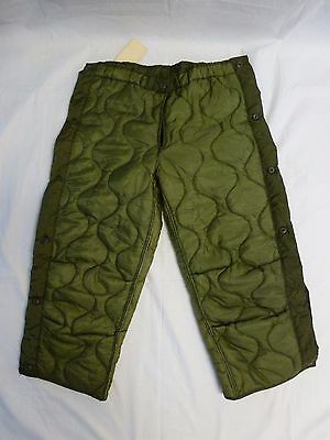 $12 • Buy OD Pant Liner Cold Weather M-65 Field Pants Liner Medium Long NEW