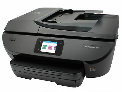 View Details HP ENVY7858 All-in-One Inkjet Printer Bundle With 2 Ink Cartridges • 78.99$