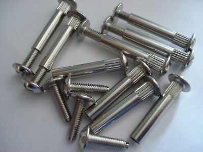 Furniture Cabinet Connector Screw Bolts Choose Length • 3.75£
