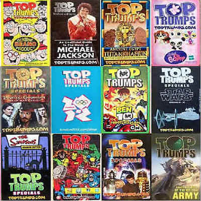 Top Trumps Single Card Military Vehicles Jeeps Trucks Cars - Various (FB3) • 2.45£