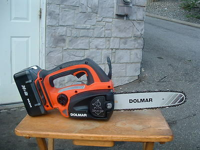 View Details BRAND NEW MAKITA  DOLMAR LITHIUM ION 36 VOLT CHAINSAWS W/BATTERY & CHARGER  • 180.15£