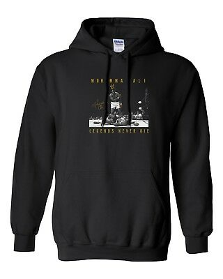$29.99 • Buy Muhammad Ali Legends Never Die Hooded Sweater Sweatshirt Pullover Hoodie