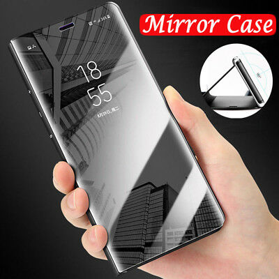 AU6.48 • Buy For One Plus 8 7 7 Pro 6T 6 5T Clear View Mirror Leather Flip Stand Case Cover