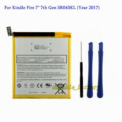 $18.50 • Buy New Genuine Battery For Amazon Kindle Fire 7  7th Gen SR043KL (Year 2017)
