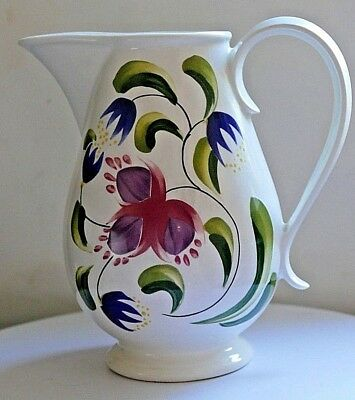 PORTMEIRION ~ Welsh Dresser Pattern ~ Large Table/Water Jug ~ Height 7.00   • 22.50£