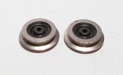 £1.50 • Buy Hornby Geared Disc Drive Unit Wheel With Traction Tyre Groove X 2 (X860B)