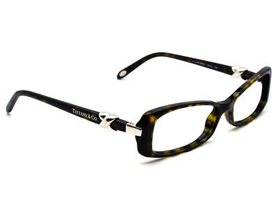 f1e76ad5e24 Tiffany   Co. Eyeglasses TF2016 8015 Tortoise Rectangular Frame Italy  53  15 135