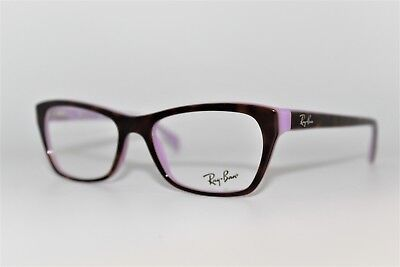 a9c89a13499 New Authentic Ray-ban Rb 5298 5240 Violet Havana Frames Eyeglasses 51mm  Rb5298 • 59.99