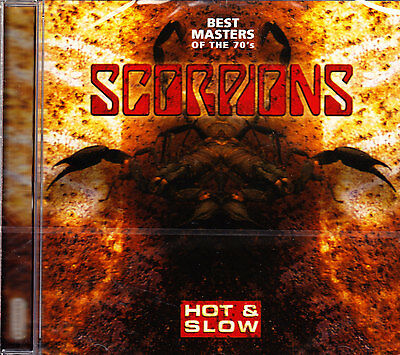 £4.80 • Buy SCORPIONS Hot & Slow -best Masters Of The 70´s- CD NEU