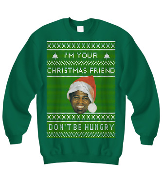 $29.95 • Buy I'm Your Christmas Friend - Don't Be Hungry - James Brown Holiday Sweatshirt
