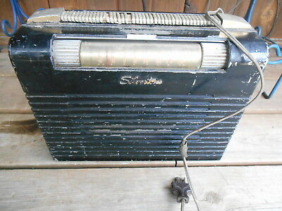 $ CDN18.33 • Buy Vintage Sears Silvertone Chassis #528.259  Metal Case Tube Radio W Handle Works