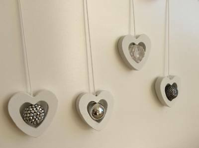 £8.49 • Buy Heart Shaped Bathroom Light Pull, With Cord, Wooden,  Unique Designs, Brand New