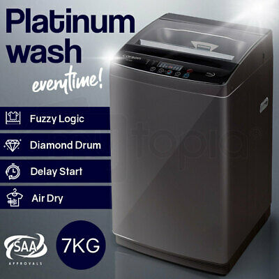 AU389 • Buy CARSON 7kg Automatic Top Load Washing Machine Home Dry Wash Automatic Washer