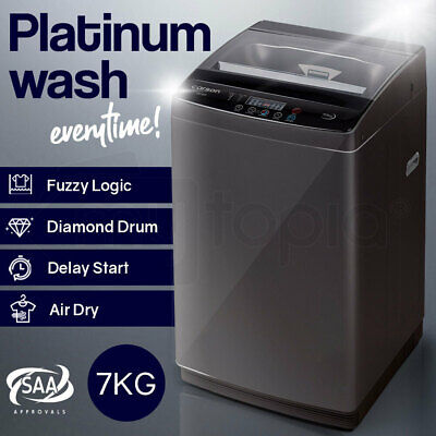 AU429 • Buy CARSON 7kg Automatic Top Load Washing Machine Home Dry Wash Automatic Washer