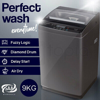 AU499 • Buy CARSON 9kg Top Load Washing Machine Home Dry Wash Automatic Washer Laundry Grey