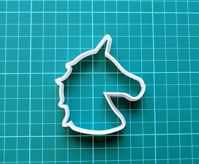 AU4.93 • Buy Unicorn Head Biscuit Cookie Cutter, Cookies Craft Cake Decorating