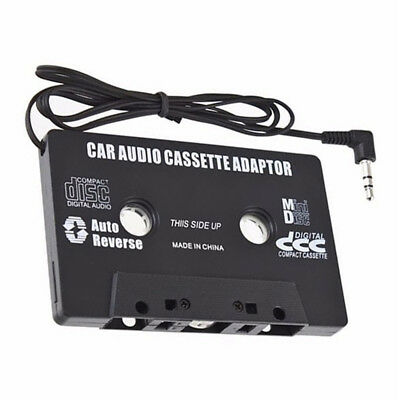 Car Audio Cassette Tape Adapter 3.5 MM For IPhone Ipod MP3 AUX Accessory YU • 1.89£