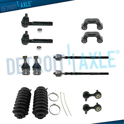 $89.90 • Buy Inner Outer Tierods Sway Bars Ball Joints For 2002 2003 Subaru Impreza SEDAN
