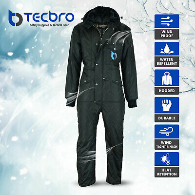 $140 • Buy Tecbro Chill Bloc Men's Insulated Coverall Extreme Cold Weather Freezer Suit -50