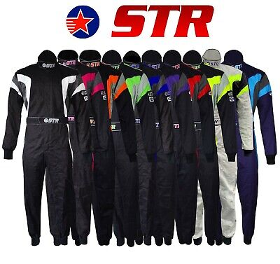 £99 • Buy Fireproof Race Suit Single Layer SFI 3.2A/1 And Proban Treated Oval STR Podium