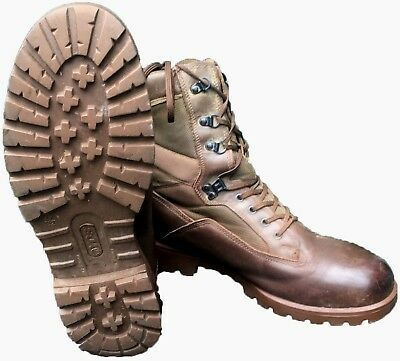 Genuine British Army -YDS Kestrel Brown Boots MTP Leather Combat Military  • 35£