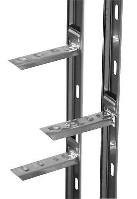 Stainless Wall Starter Kit - FULL 2.4M Wall Tie-in System Top Quality AXLSS • 16.99£