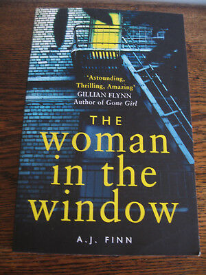 AU9 • Buy THE WOMAN IN THE WINDOW  By A.J. FINN -GREAT NEW THRILLER PUB 2018