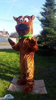 Scooby Doo Mascot Costume Dress Adult  Express Shipping Poland • 244.99£