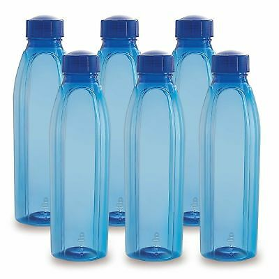 AU39 • Buy Cello Crystal PET Bottle Set, 1 Litre, Set Of 6,Blue (free Shipping World)