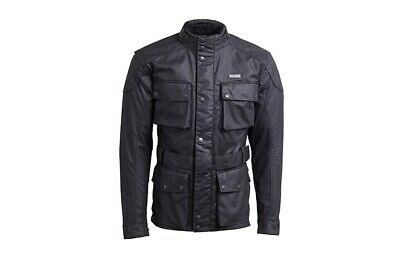 Triumph Beck Mens Waxed Motorcycle Jacket - Genuine Triumph Clothing • 329.99£