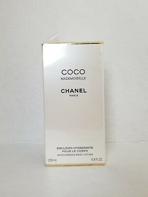 COCO MADEMOISELLE CHANEL Moisturizing Body Lotion 6.8 Oz New Sealed Box  • 67.99$