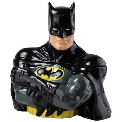 DC Comics Batman Figure Bust Ceramic Cookie Jar Westland 2012 NEW UNUSED • 79.59£
