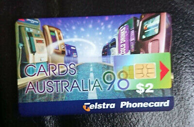 1998 $2 Phonecard - *cards Australia Expo* - Complimentary Only - Mint - Rare • 109.79£