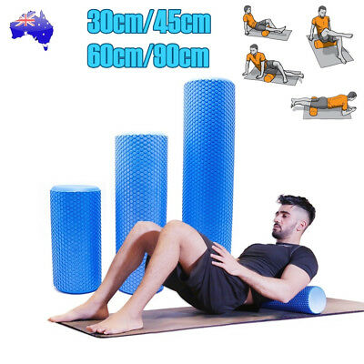 AU28.50 • Buy Foam Roller Yoga Grid Trigger Point Massage Pilates Physio Gym Home Exercise EVA