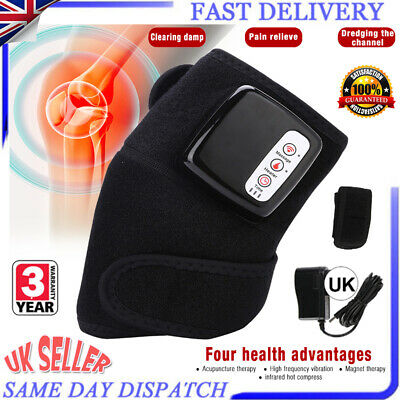 £29.18 • Buy Knee Joint Arthritis Pain Physiotherapy Massager Heat Vibration Relaxing Machine