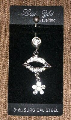 £2.99 • Buy UK Belly Bars, New Belly Bars, Steel Belly Bars, Silver, Top Drop Navel