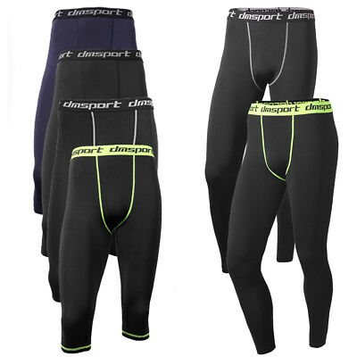Mens Compression Shorts Base Layer Thermal Sport Fitness Skins Fit Under Gear ET • 10.68£